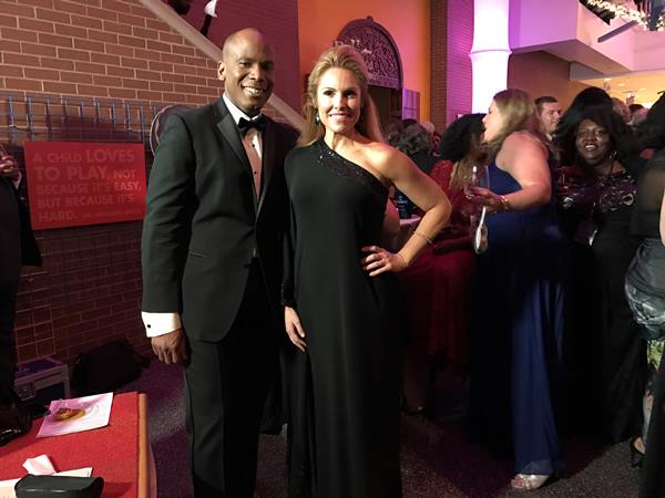 "<div class=""meta image-caption""><div class=""origin-logo origin-image wtvd""><span>WTVD</span></div><span class=""caption-text"">Joel Brown and Anna Laurel at Governor's Inaugural Ball, Friday night at Marbles Museum in Raleigh. (Caroline F. Welch)</span></div>"