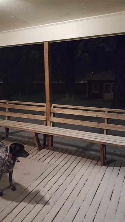 """<div class=""""meta image-caption""""><div class=""""origin-logo origin-image wtvd""""><span>WTVD</span></div><span class=""""caption-text"""">Sam the dog checks out snow in west Burlington. (ABC11 Eyewitness)</span></div>"""