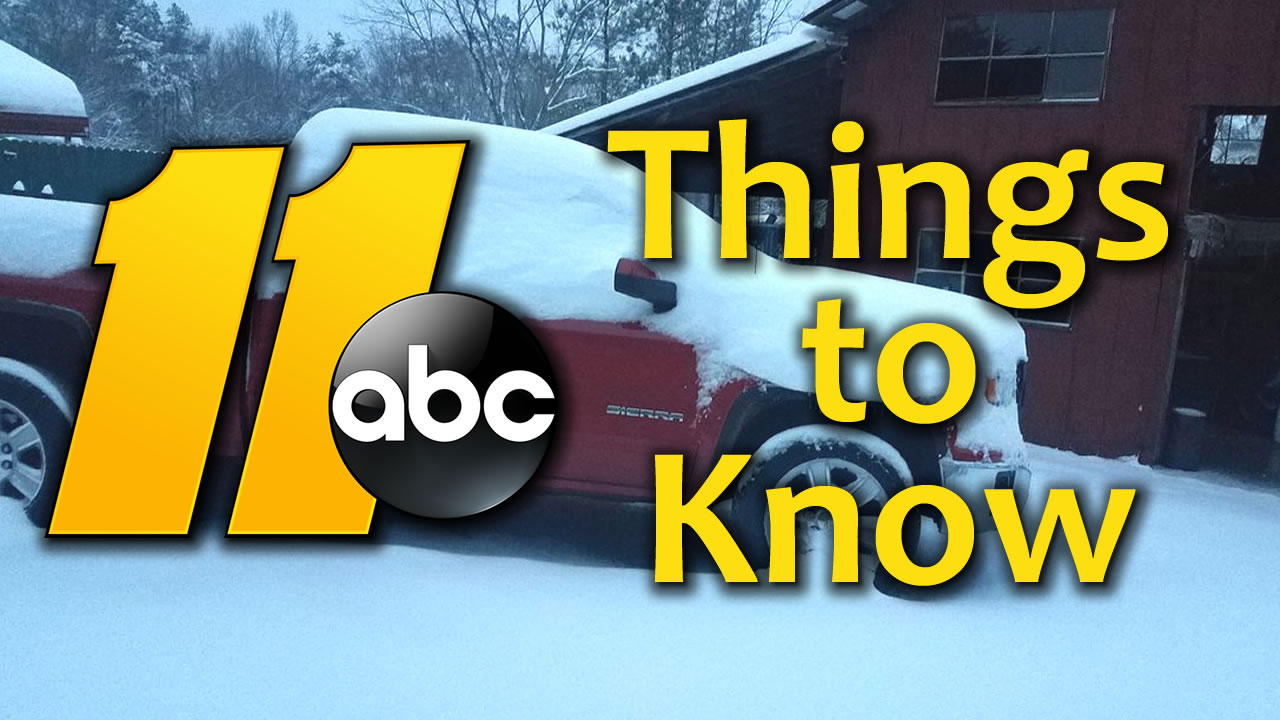 11 things to know about the winter storm