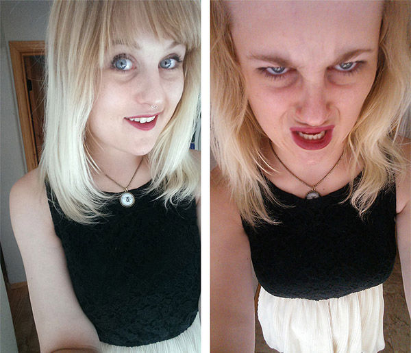 """<div class=""""meta image-caption""""><div class=""""origin-logo origin-image """"><span></span></div><span class=""""caption-text"""">Somebody call an exorcist, this attractive woman has clearly been posessed on the right. (reddit.com/user/marhmalloskies)</span></div>"""