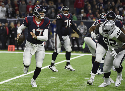 "<div class=""meta image-caption""><div class=""origin-logo origin-image ap""><span>AP</span></div><span class=""caption-text"">Houston Texans quarterback Brock Osweiler (17) works against the Oakland Raiders. (AP Photo/Eric Gay)</span></div>"
