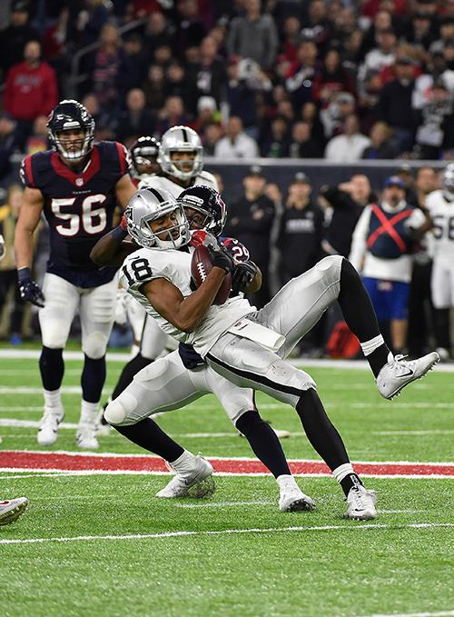 "<div class=""meta image-caption""><div class=""origin-logo origin-image ap""><span>AP</span></div><span class=""caption-text"">Oakland Raiders wide receiver Andre Holmes (18) makes the catch ahead of Houston Texans free safety Andre Hal (29). (AP Photo/Eric Gay)</span></div>"