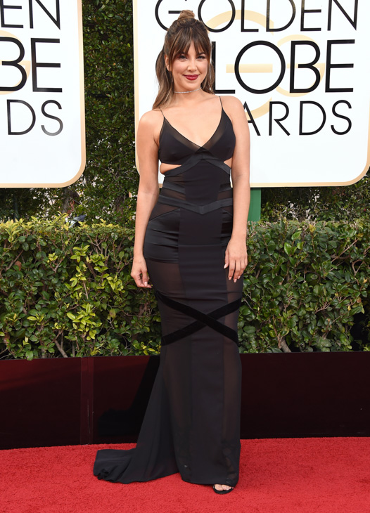 "<div class=""meta image-caption""><div class=""origin-logo origin-image none""><span>none</span></div><span class=""caption-text"">Liz Hernandez arrives at the 74th annual Golden Globe Awards at the Beverly Hilton Hotel on Sunday, Jan. 8, 2017, in Beverly Hills, Calif. (Jordan Strauss/Invision/AP)</span></div>"