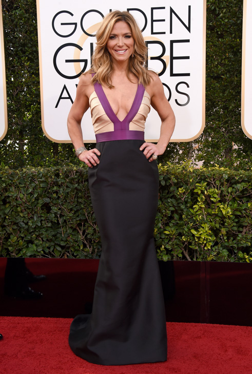 <div class='meta'><div class='origin-logo' data-origin='none'></div><span class='caption-text' data-credit='Jordan Strauss/Invision/AP'>Debbie Matenopoulos arrives at the 74th annual Golden Globe Awards at the Beverly Hilton Hotel on Sunday, Jan. 8, 2017, in Beverly Hills, Calif.</span></div>
