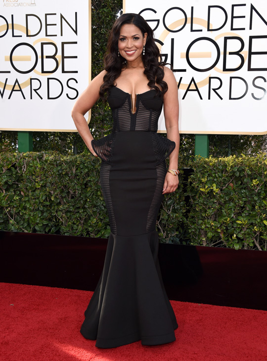 <div class='meta'><div class='origin-logo' data-origin='none'></div><span class='caption-text' data-credit='Jordan Strauss/Invision/AP'>Tracey Edmonds arrives at the 74th annual Golden Globe Awards at the Beverly Hilton Hotel on Sunday, Jan. 8, 2017, in Beverly Hills, Calif.</span></div>