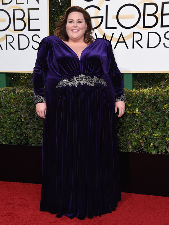 "<div class=""meta image-caption""><div class=""origin-logo origin-image none""><span>none</span></div><span class=""caption-text"">Chrissy Metz arrives at the 74th annual Golden Globe Awards at the Beverly Hilton Hotel on Sunday, Jan. 8, 2017, in Beverly Hills, Calif. (Jordan Strauss/Invision/AP)</span></div>"