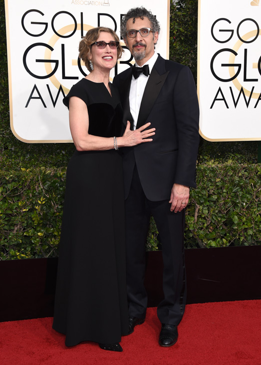 "<div class=""meta image-caption""><div class=""origin-logo origin-image none""><span>none</span></div><span class=""caption-text"">Katherine Borowitz, left, and John Turturro arrive at the 74th annual Golden Globe Awards at the Beverly Hilton Hotel on Sunday, Jan. 8, 2017, in Beverly Hills, Calif. (Jordan Strauss/Invision/AP)</span></div>"
