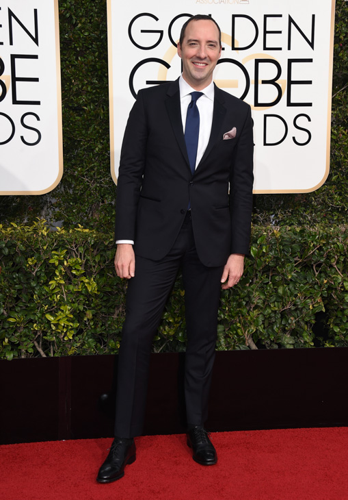 "<div class=""meta image-caption""><div class=""origin-logo origin-image none""><span>none</span></div><span class=""caption-text"">Tony Hale arrives at the 74th annual Golden Globe Awards at the Beverly Hilton Hotel on Sunday, Jan. 8, 2017, in Beverly Hills, Calif. (Jordan Strauss/Invision/AP)</span></div>"