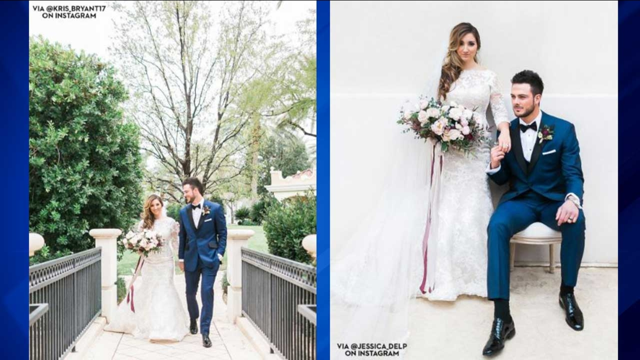 Cubs' Kris Bryant gets married