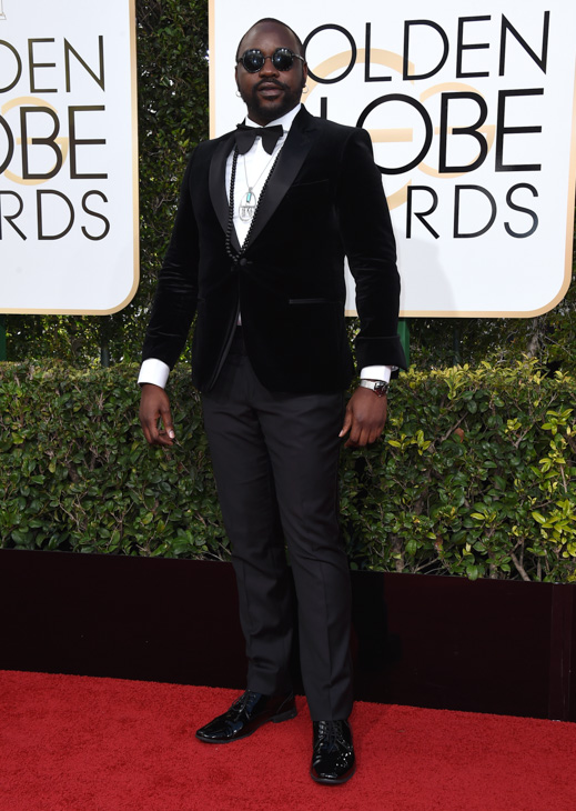 <div class='meta'><div class='origin-logo' data-origin='none'></div><span class='caption-text' data-credit='Jordan Strauss/Invision/AP'>Brian Tyree Henry arrives at the 74th annual Golden Globe Awards at the Beverly Hilton Hotel on Sunday, Jan. 8, 2017, in Beverly Hills, Calif.</span></div>