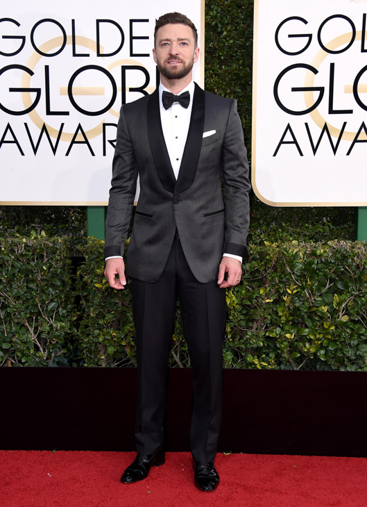 "<div class=""meta image-caption""><div class=""origin-logo origin-image none""><span>none</span></div><span class=""caption-text"">Justin Timberlake arrives at the 74th annual Golden Globe Awards at the Beverly Hilton Hotel on Sunday, Jan. 8, 2017, in Beverly Hills, Calif. (Jordan Strauss/Invision/AP)</span></div>"