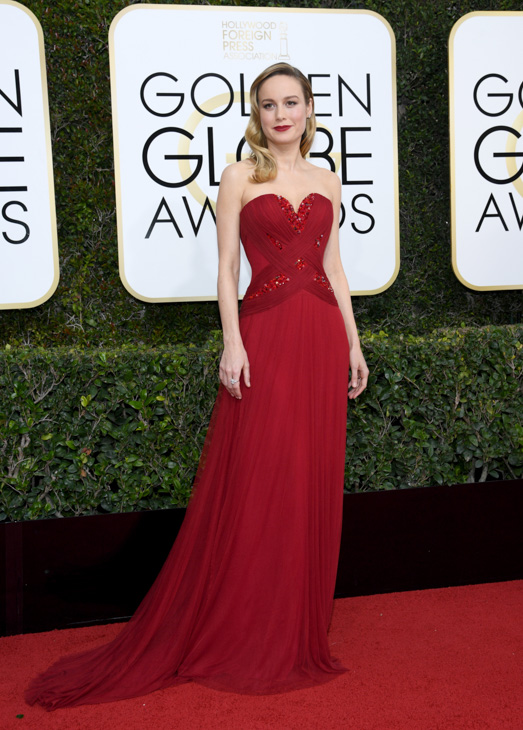 "<div class=""meta image-caption""><div class=""origin-logo origin-image none""><span>none</span></div><span class=""caption-text"">74th ANNUAL GOLDEN GLOBE AWARDS -- Pictured: Actress Brie Larson arrives to the 74th Annual Golden Globe Awards held at the Beverly Hilton Hotel on January 8, 2017. (NBCU Photo Bank via Getty Images)</span></div>"