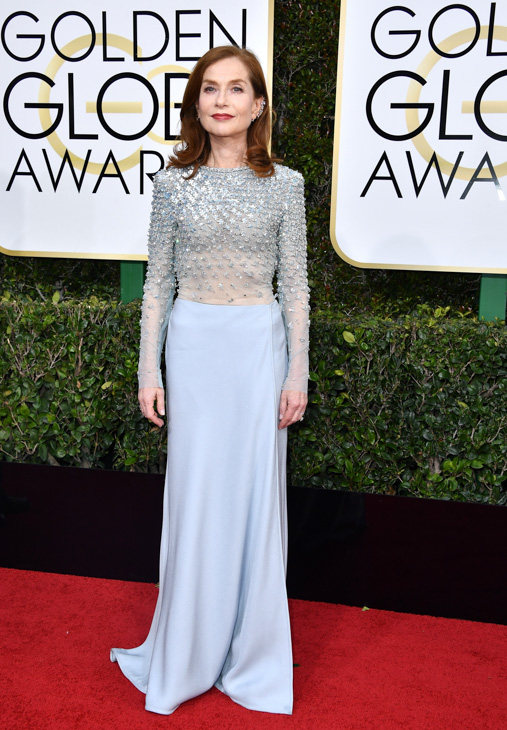 "<div class=""meta image-caption""><div class=""origin-logo origin-image none""><span>none</span></div><span class=""caption-text"">Actress Isabelle Huppert attends the 74th Annual Golden Globe Awards at The Beverly Hilton Hotel on January 8, 2017 in Beverly Hills, California. (Steve Granitz/Getty Images)</span></div>"