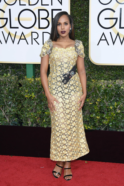 "<div class=""meta image-caption""><div class=""origin-logo origin-image none""><span>none</span></div><span class=""caption-text"">Kerry Washington attends the 74th Annual Golden Globe Awards at The Beverly Hilton Hotel on January 8, 2017 in Beverly Hills, California. (Venturelli/Getty Images)</span></div>"
