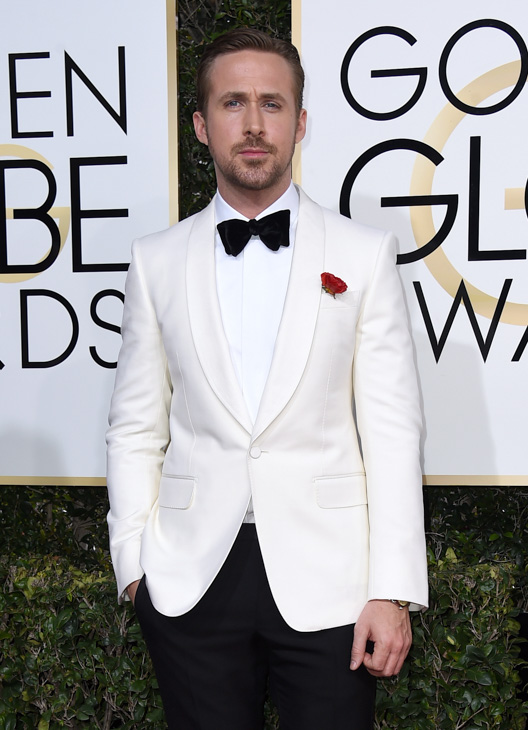 <div class='meta'><div class='origin-logo' data-origin='none'></div><span class='caption-text' data-credit='Jordan Strauss/Invision/AP'>Ryan Gosling arrives at the 74th annual Golden Globe Awards at the Beverly Hilton Hotel on Sunday, Jan. 8, 2017, in Beverly Hills, Calif.</span></div>