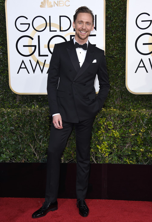 "<div class=""meta image-caption""><div class=""origin-logo origin-image none""><span>none</span></div><span class=""caption-text"">Tom Hiddleston arrives at the 74th annual Golden Globe Awards at the Beverly Hilton Hotel on Sunday, Jan. 8, 2017, in Beverly Hills, Calif. (Jordan Strauss/Invision/AP)</span></div>"