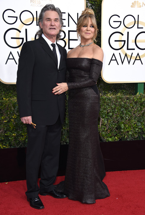 <div class='meta'><div class='origin-logo' data-origin='none'></div><span class='caption-text' data-credit='Jordan Strauss/Invision/AP'>Kurt Russell, left, and Goldie Hawn arrive at the 74th annual Golden Globe Awards at the Beverly Hilton Hotel on Sunday, Jan. 8, 2017, in Beverly Hills, Calif.</span></div>