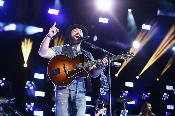 <div class='meta'><div class='origin-logo' data-origin='AP'></div><span class='caption-text' data-credit='Al Wagner/Invision/AP'>Zac Brown of the Zac Brown Band performs at LP Field at the CMA Music Festival on Friday, June 12, 2015, in Nashville, Tenn.</span></div>
