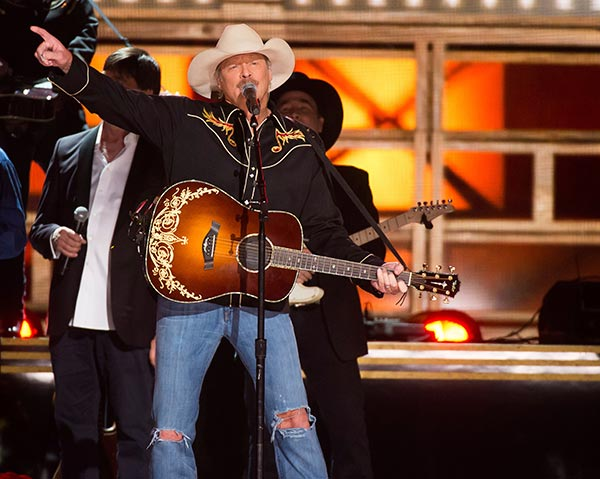 <div class='meta'><div class='origin-logo' data-origin='AP'></div><span class='caption-text' data-credit='Photo by Charles Sykes/Invision/AP'>Alan Jackson performs &#34;Don't Rock the Jukebox&#34; at the 50th annual CMA Awards at the Bridgestone Arena on Wednesday, Nov. 2, 2016, in Nashville, Tenn.</span></div>