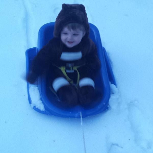 "<div class=""meta image-caption""><div class=""origin-logo origin-image wtvd""><span>WTVD</span></div><span class=""caption-text"">Collyn, 12 months old, enjoying the snow! (Leigh Ann Rasberry - ABC11 Eyewitness)</span></div>"