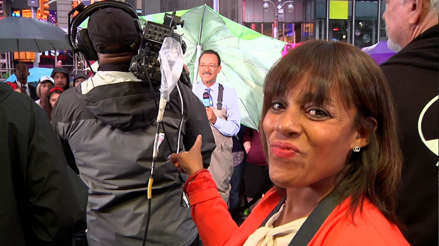 "<div class=""meta image-caption""><div class=""origin-logo origin-image ""><span></span></div><span class=""caption-text"">Behind the scenes as ABC7's Spencer Christian makes a guest appearance on GMA in New York. (Photo courtesy of Days With Zahrah host, Zahrah Farmer)</span></div>"