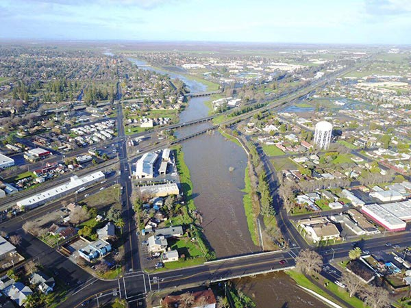 <div class='meta'><div class='origin-logo' data-origin='none'></div><span class='caption-text' data-credit='Maged Mohamed'>Fresno River in Madera. According to the Madera Irrigation District this is the first time since 2011, water has been flowing in river</span></div>