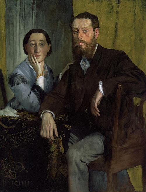 "<div class=""meta image-caption""><div class=""origin-logo origin-image none""><span>none</span></div><span class=""caption-text"">Edgar Degas, Edmondo and Thérèse Morbilli, c. 1865, oil on canvas, Museum of Fine Arts, Boston, gift of Robert Treat Paine, 2nd. (Courtesy Museum of Fine Arts, Houstoun)</span></div>"