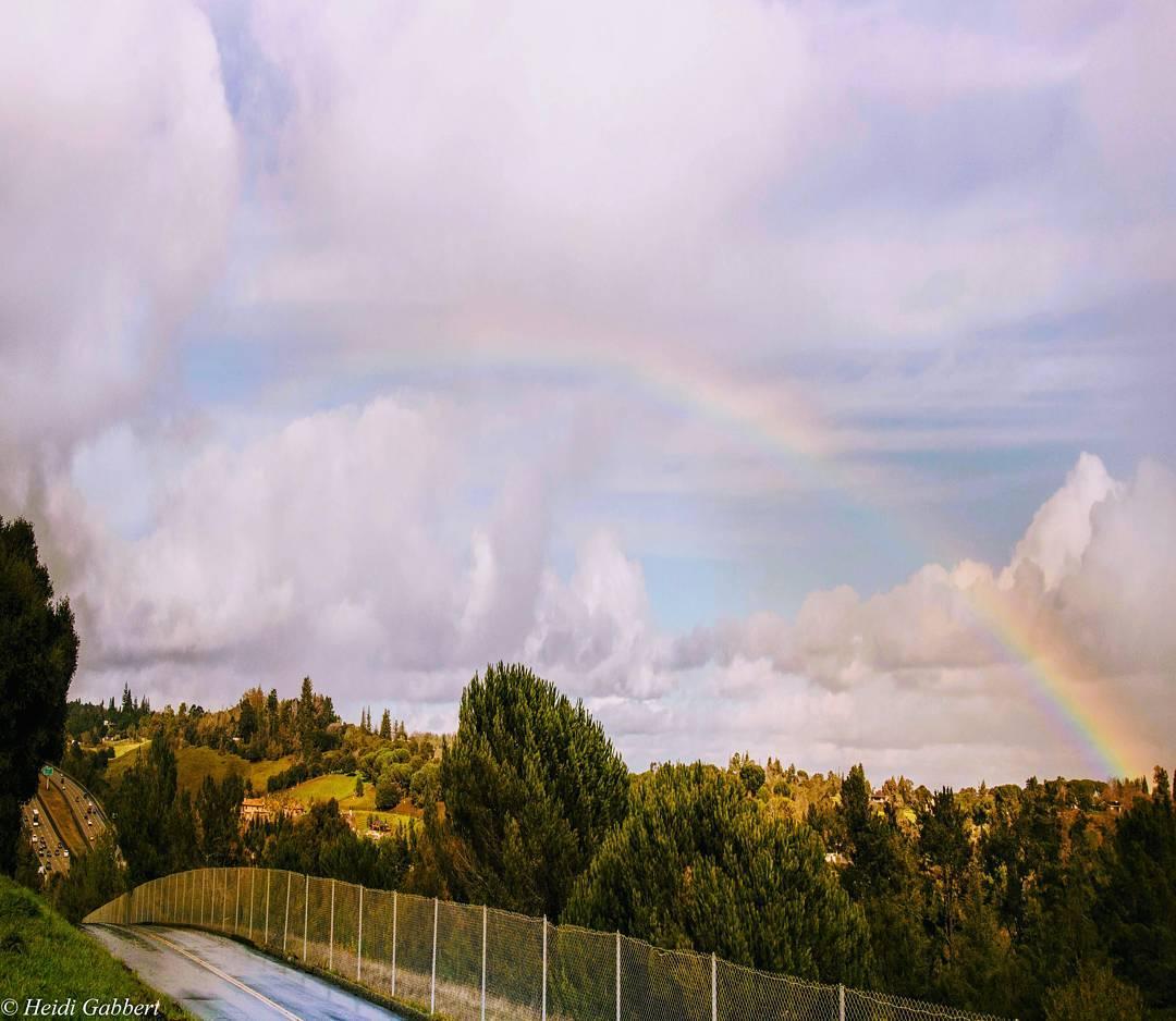 <div class='meta'><div class='origin-logo' data-origin='none'></div><span class='caption-text' data-credit='heidisec/Instagram'>A rainbow appears in the Bay Area sky after a massive storm on Jan. 11, 2017.</span></div>