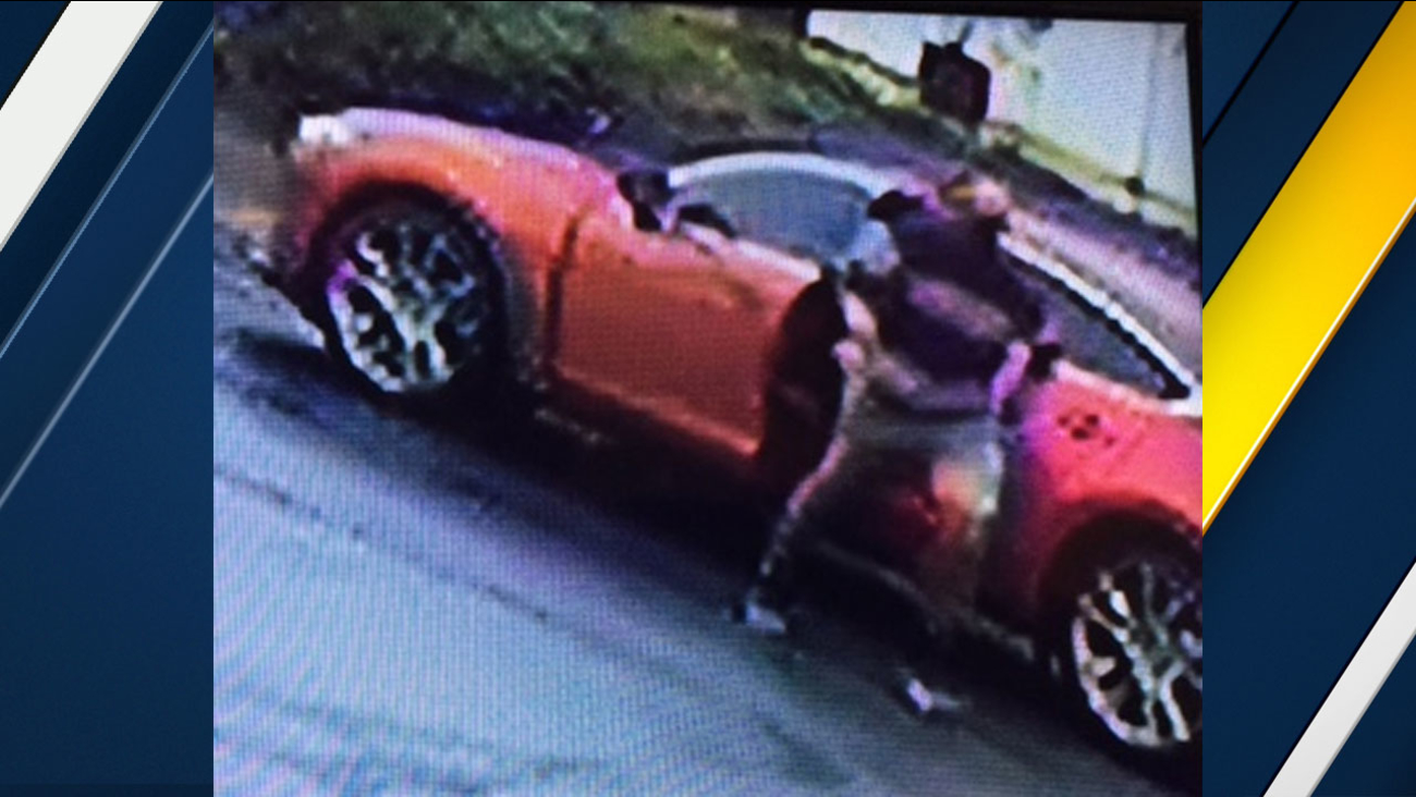 Authorities released surveillance video of the groping suspect and the car he left in on Monday, Jan. 9, 2017.