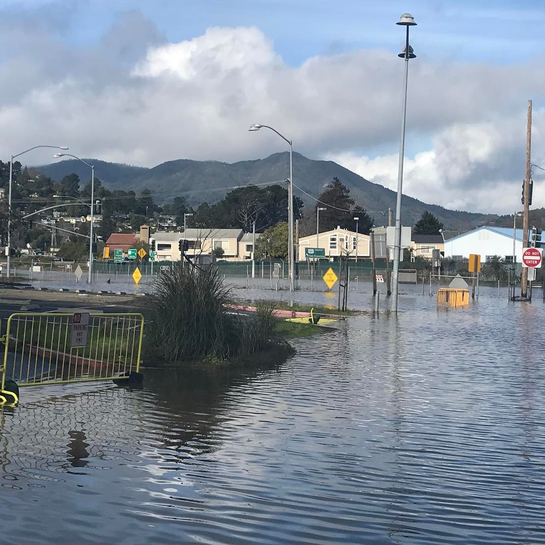 "<div class=""meta image-caption""><div class=""origin-logo origin-image none""><span>none</span></div><span class=""caption-text"">Manzanita parking lot in Mill Valley, Calif. is seen under water on Jan. 11, 2017. (bombacat007/Instagram)</span></div>"