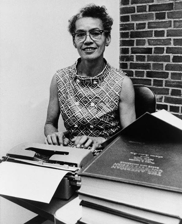 <div class='meta'><div class='origin-logo' data-origin='AP'></div><span class='caption-text' data-credit=''>Brandeis University professor Dr. Pauli Murray poses for a portrait in Waltham, Mass. on Sept. 25, 1970.</span></div>