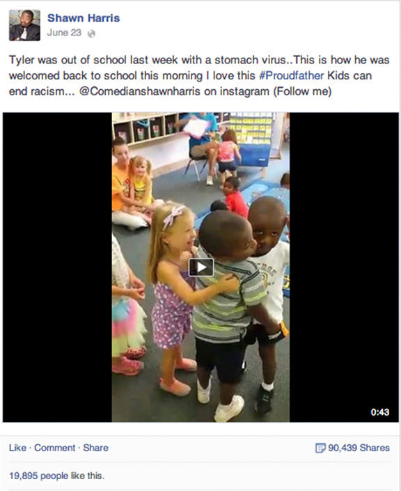 "<div class=""meta image-caption""><div class=""origin-logo origin-image ""><span></span></div><span class=""caption-text"">I love this #Proudfather. Kids can end racism. (Shawn Harris / Facebook)</span></div>"