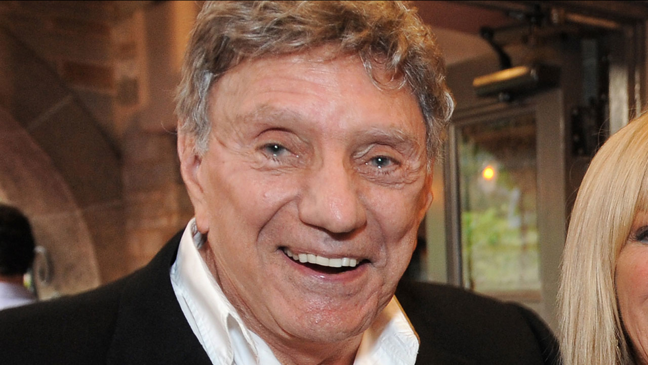 """Author William Peter Blatty attends the world premiere opening of """"The Exorcist"""" at the Geffen Playhouse on Wednesday July 11, 2012 in Westwood, Calif."""