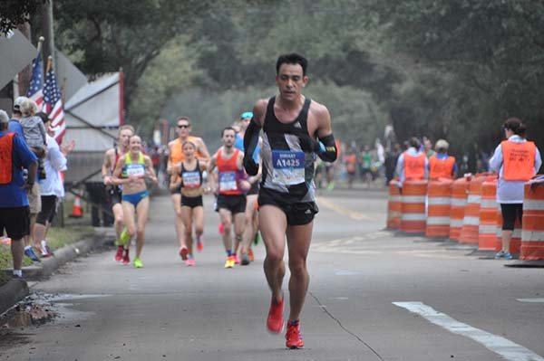 "<div class=""meta image-caption""><div class=""origin-logo origin-image none""><span>none</span></div><span class=""caption-text"">Athletes took to the streets of Houston for the Chevron Houston Marathon and Aramco Houston Half Marathon, Sunday, January 15, 2017.</span></div>"