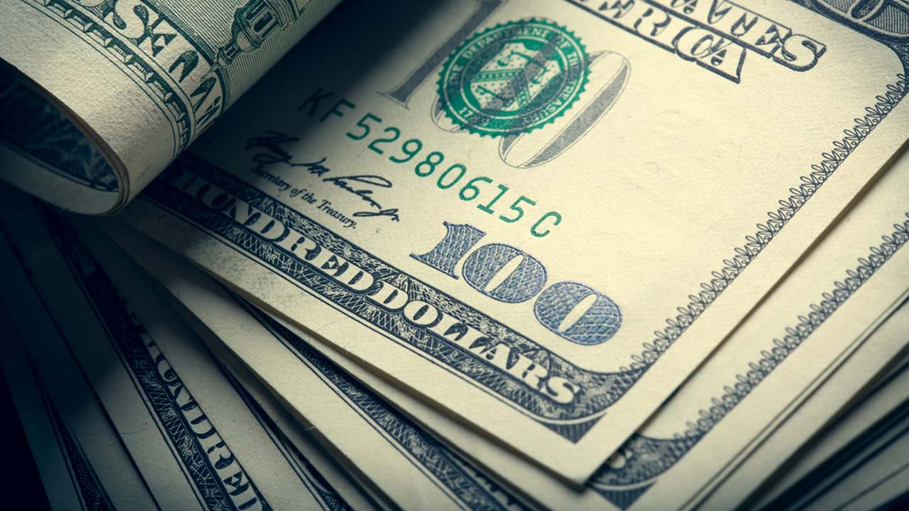 A stock image of $100 bills