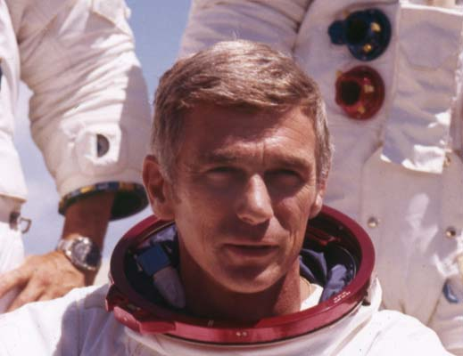 <div class='meta'><div class='origin-logo' data-origin='KTRK'></div><span class='caption-text' data-credit=''>Eugene Andrew &#34;Gene&#34; Cernan, was an American naval officer and Naval Aviator, electrical engineer, aeronautical engineer, fighter pilot, and NASA astronaut.</span></div>