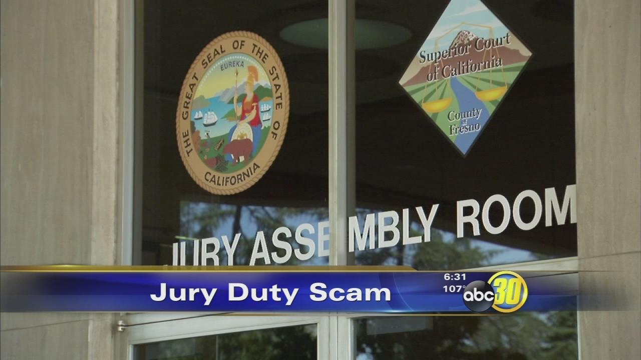 Fresno jury duty phone number