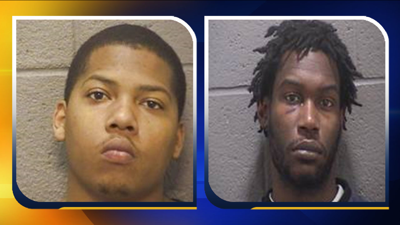Left: Kenneth Atwater; Right: Saquawn Williams