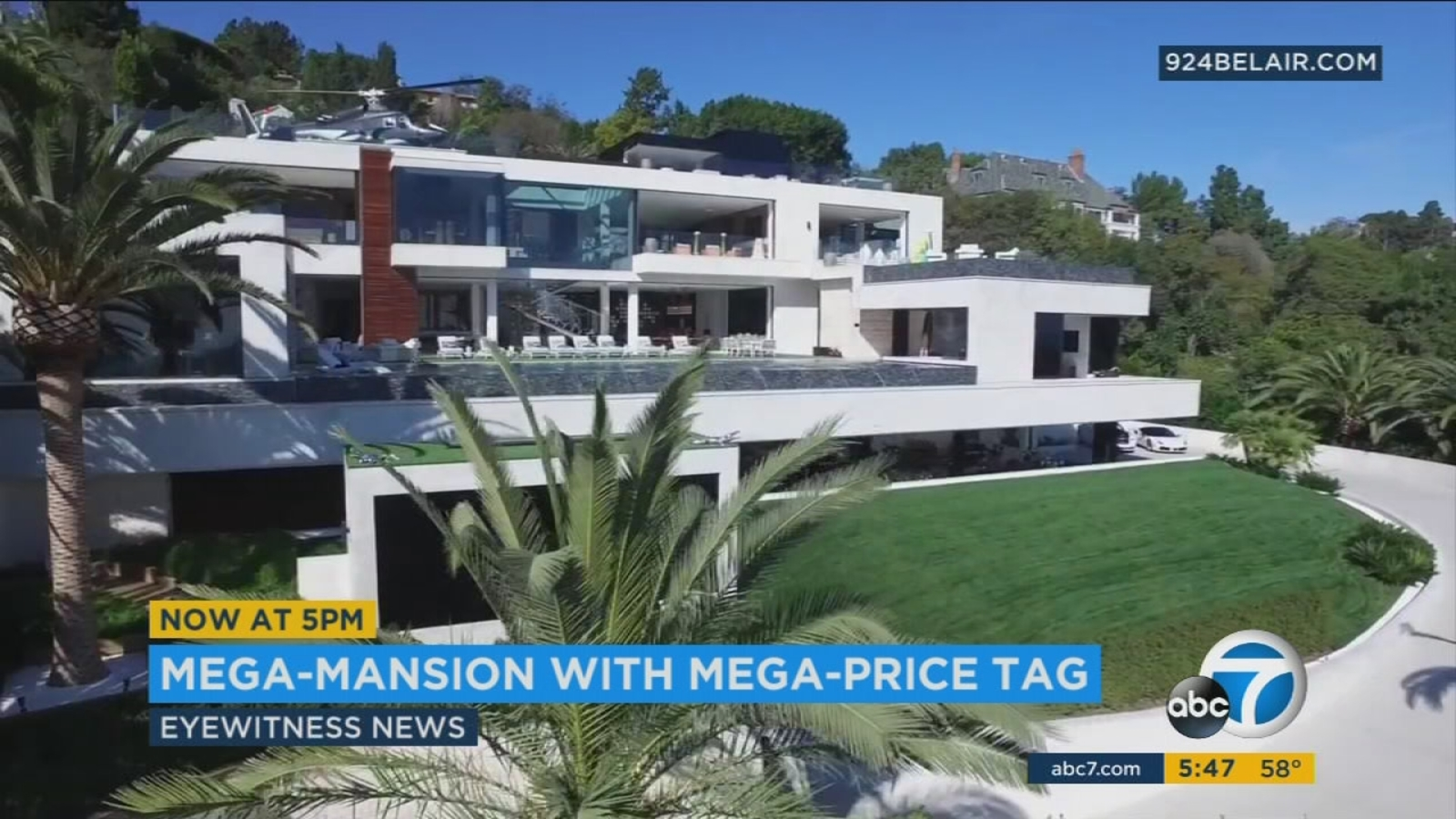 250 million bel air mansion most expensive us home for sale