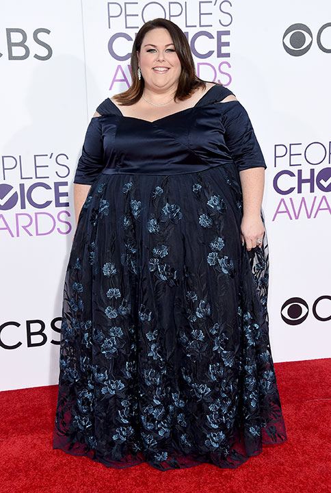 """<div class=""""meta image-caption""""><div class=""""origin-logo origin-image none""""><span>none</span></div><span class=""""caption-text"""">Chrissy Metz arrives at the People's Choice Awards at the Microsoft Theater on Wednesday, Jan. 18, 2017, in Los Angeles. (Jordan Strauss/Invision/AP)</span></div>"""