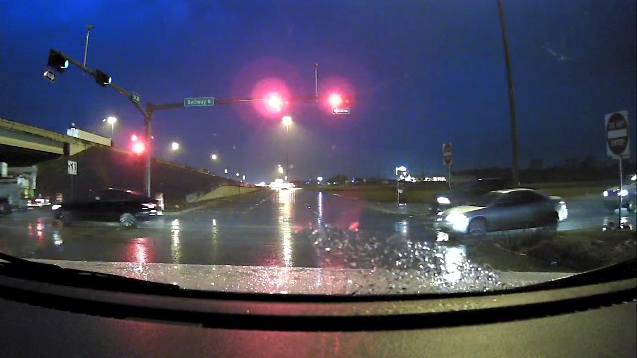 Bad weather in Houston
