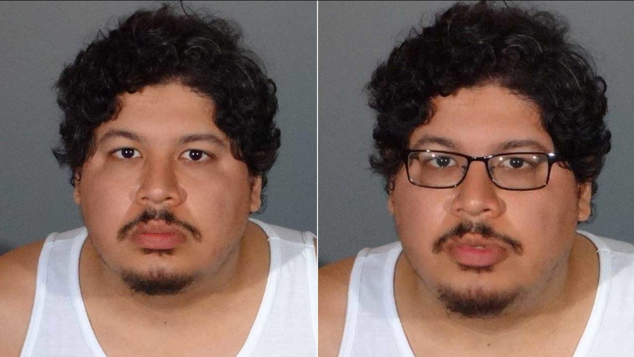 Steven Matthew Garcia is seen in a photo released by the Los Angeles County Sheriff's Department.
