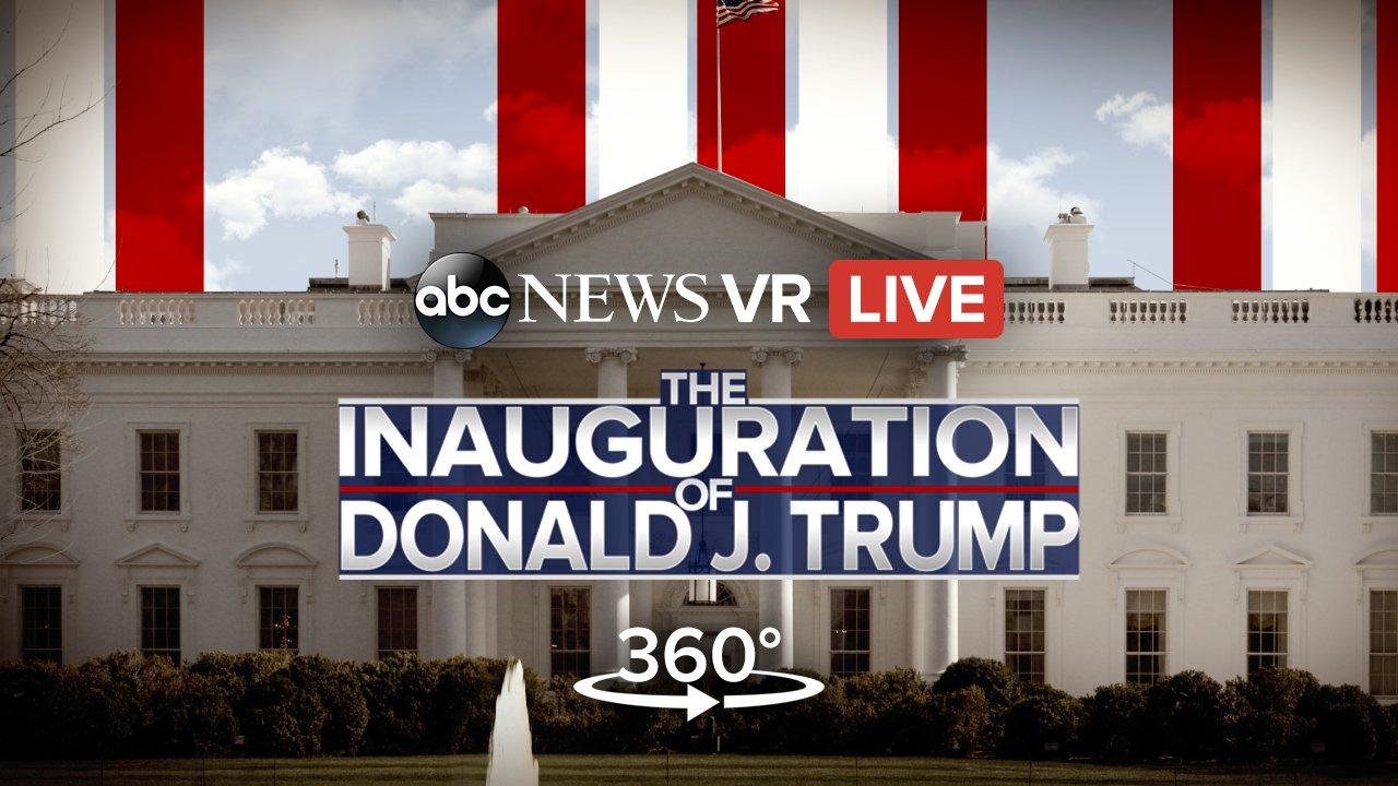 donald trump inauguration 360 video