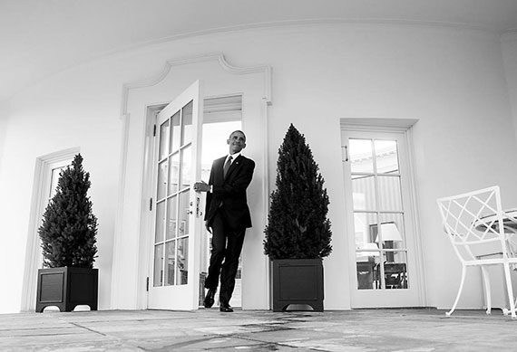 <div class='meta'><div class='origin-logo' data-origin='none'></div><span class='caption-text' data-credit='Pete Souza/Instagram'>Pete Souza captioned this, ''Another view of President Obama leaving the Oval Office for the last time this morning (taken with remote camera).''</span></div>