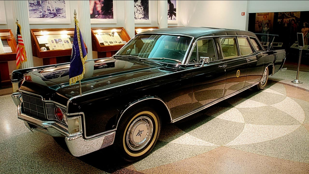 A Look At Presidential Limos Through History Abc7 Com
