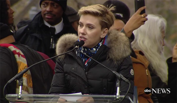<div class='meta'><div class='origin-logo' data-origin='none'></div><span class='caption-text' data-credit=''>Actress Scarlett Johansson speaks at a rally preceding the Women's March on Washington in Washington, D.C.</span></div>