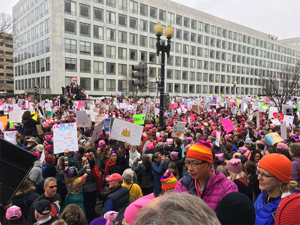 <div class='meta'><div class='origin-logo' data-origin='none'></div><span class='caption-text' data-credit='Jeff Goldberg/WJLA'>Crowds gather along Independence Avenue for the Women's March on Washington.</span></div>