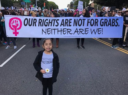 "<div class=""meta image-caption""><div class=""origin-logo origin-image none""><span>none</span></div><span class=""caption-text"">Demonstrators created signs and posters for the Women's Marches across Southern California on Saturday, Jan. 21, 2017. (ricodazombie)</span></div>"