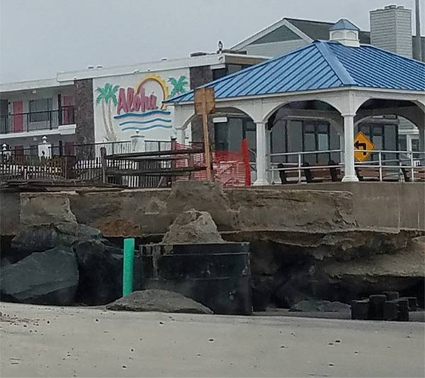 <div class='meta'><div class='origin-logo' data-origin='none'></div><span class='caption-text' data-credit='North Wildwood Police'>North Wildwood police took photos of beach erosion on Jan. 24.  It happened as a Nor'easter hit the area the day before.</span></div>
