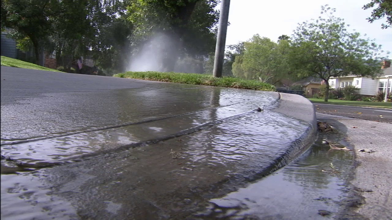 Sprinklers are seen in this undated file photo.